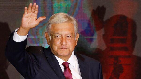 Novoizabrani predsednik Meksika Andres Manuel Lopes Obrador - Sputnik Srbija
