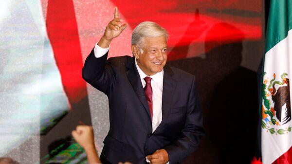 Novi predsednik Meksika Manuel Lopez Obrador - Sputnik Srbija