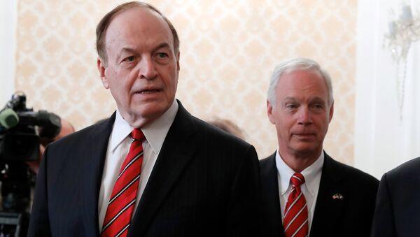 Američki senatori Ričard Šelbi i Džeri Moran - Sputnik Srbija