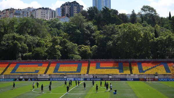 Тренинг фудбалске репрезентације Бразила на стадиону у Сочију у оквиру Светског првенства у фудбалу 2018. - Sputnik Србија