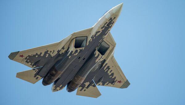 Вишенаменски ловац Су-57 - Sputnik Србија