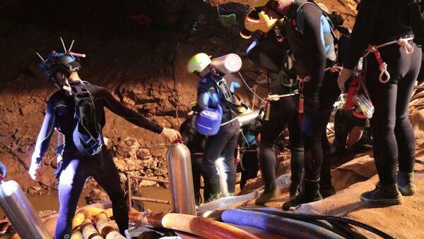 Тајландске спасилачке екипе на лицу места - Sputnik Србија