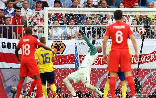 Drugi gol Engleske na meču protiv Švedske, strelac je bio Dele Ali - Sputnik Srbija