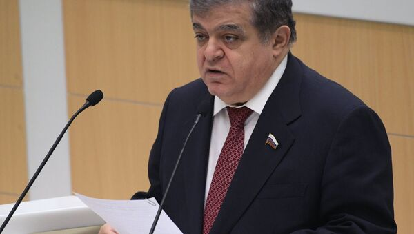Prvi zamenik predsednika Komiteta Saveta Federacije za međunarodne odnose Vladimir Džabarov - Sputnik Srbija