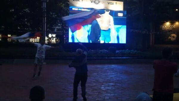 Srbija slavi prvi gol Rusije protiv Hrvatske - Sputnik Srbija