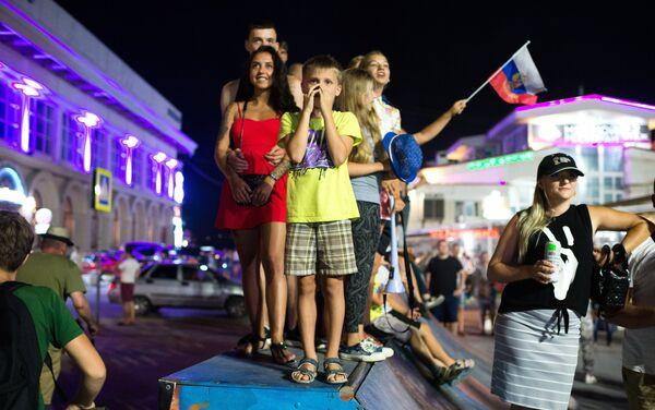 I najmlađi na ulicma Moskve se strepnjom posmatraju meč - Sputnik Srbija