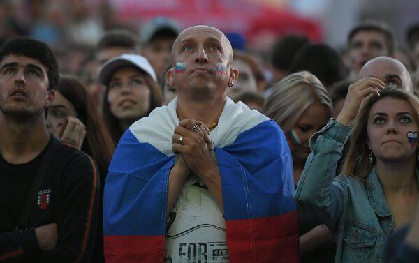 Navijači Rusije u šoku - Sputnik Srbija