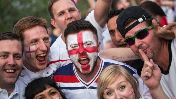 Енглески навијачи на Светском првенству у фудбалу у Русији - Sputnik Србија
