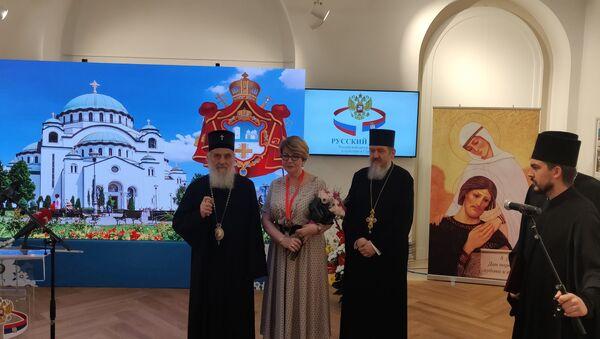 Свечана церемонија уручења ордена Елеонори Митрофановој - Sputnik Србија