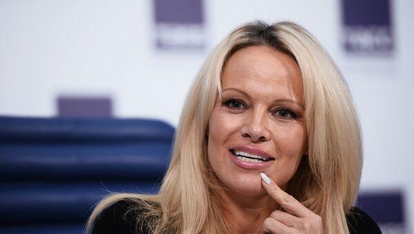 Glumica i manekenka Pamela Anderson - Sputnik Srbija