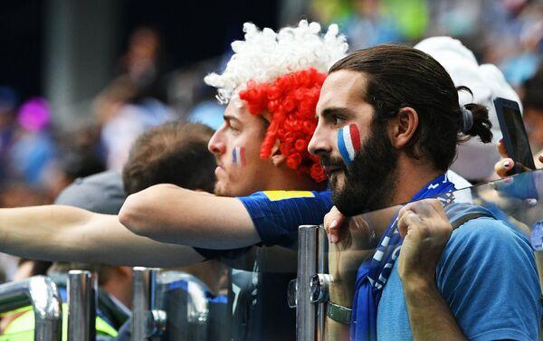 Fudbalski navijači Francuske na Svetskom prvenstvu u Rusiji - Sputnik Srbija