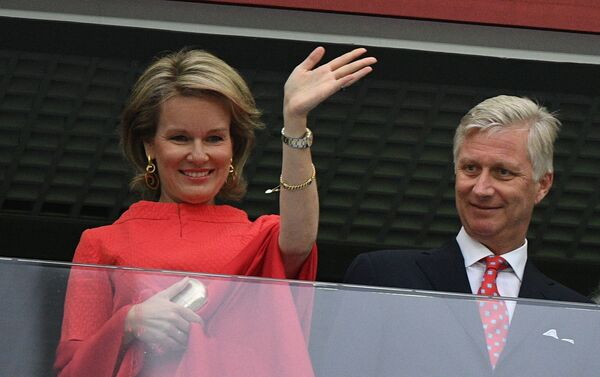 Belgijski kraljevski par - Sputnik Srbija