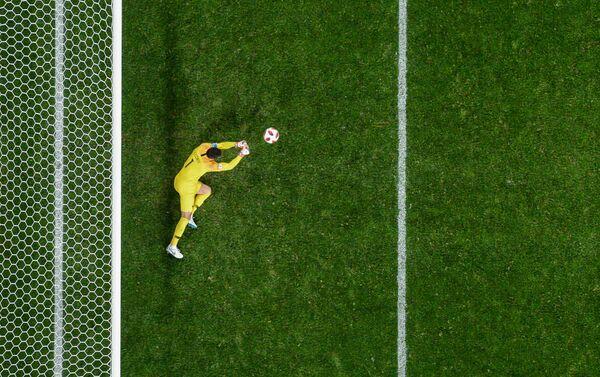 Igo Loris brani jedan od pokušaja fudbalera Belgije - Sputnik Srbija