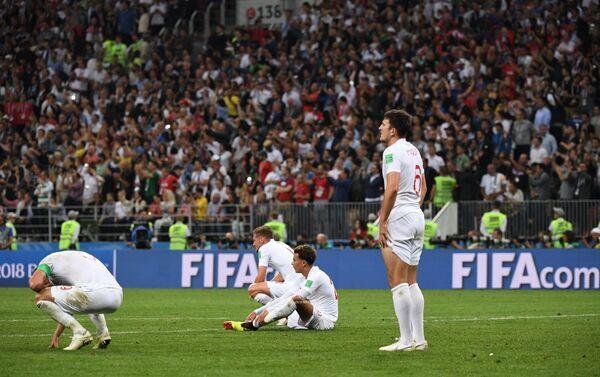 Reprezentativci Engleske razočarani porazom od Hrvatske u polufinalu - Sputnik Srbija