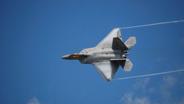 Амерички војни авион Ф-22 Раптор - Sputnik Србија