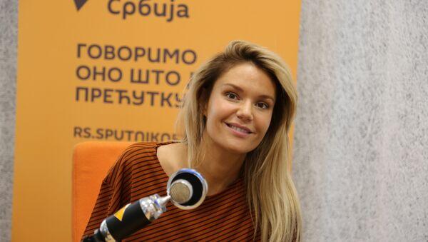 Pevačica Lena Kovačević - Sputnik Srbija