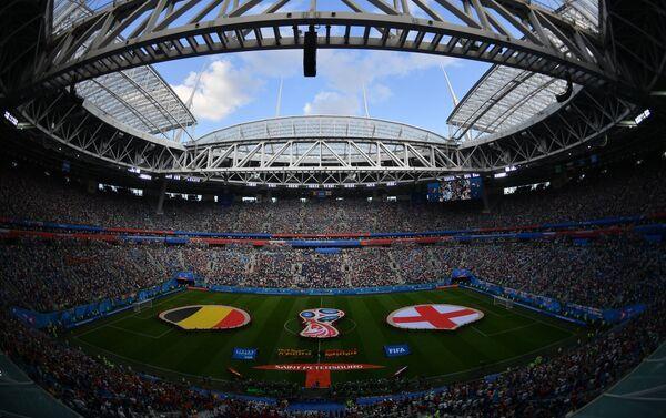 Početak meča Belgija Engleska - Sputnik Srbija