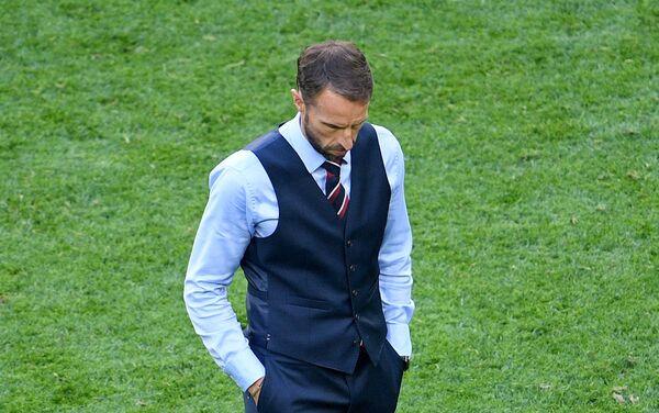 Trener Engleske Garet Sautgejt razočaran porazom njegove ekipe od Belgije u meču za treće mesto - Sputnik Srbija