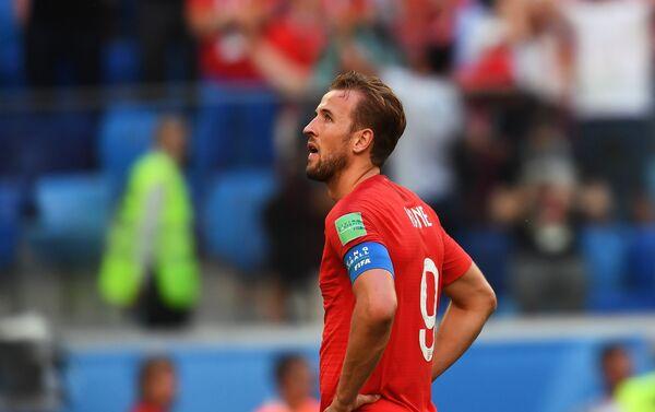 Kapiten engleske reprezentacije Hari Kejn razočaran porazom od Belgije u borbi za treće mesto - Sputnik Srbija