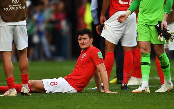 Engleski reprezentativac Hari Magvajer razočaran porazom od Belgije u borbi za treće mesto - Sputnik Srbija