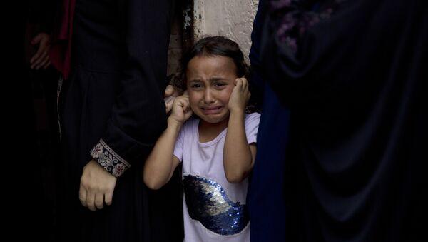 Девојчица из Газе - Sputnik Србија