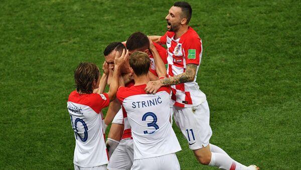 Hrvati prosvaljaju gol Perišića - Sputnik Srbija