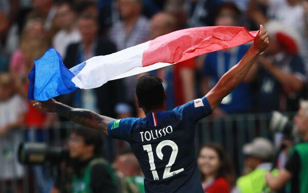 Толисо прославља освајање титуле на Светском првенству у Русији - Sputnik Србија