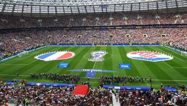 Utakmica Francuska-Hrvatska - Sputnik Srbija