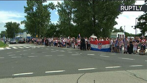 Хрватска репрезентација стиже кући - Sputnik Србија