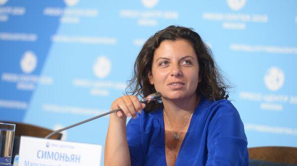 Главна уредница РТ и Русија севодња Маргарита Симоњан - Sputnik Србија