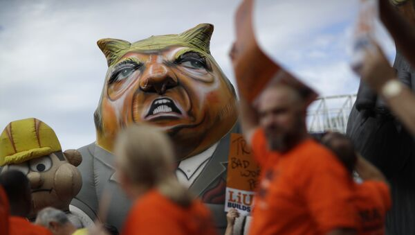 Протест против Трампа - Sputnik Србија