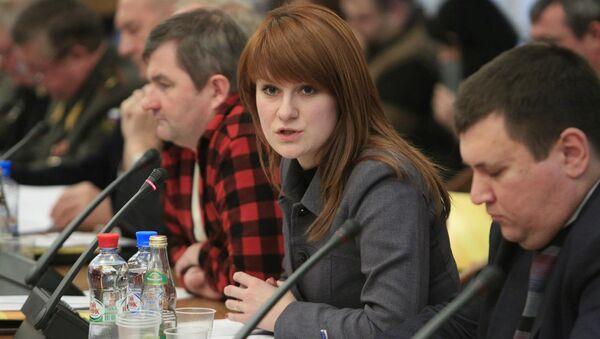 Ruska aktivistkinja Marija Butina uhapšena u Vašingtonu za špijunažu - Sputnik Srbija