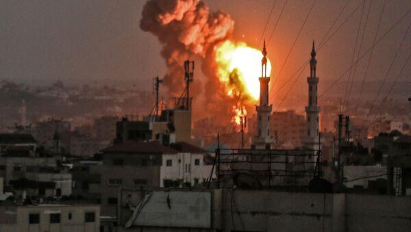 Posledice bombardovanja Pojasa Gaze - Sputnik Srbija