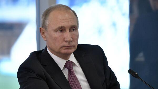 Sastanak ruskog predsednika Vladimira Putina - Sputnik Srbija