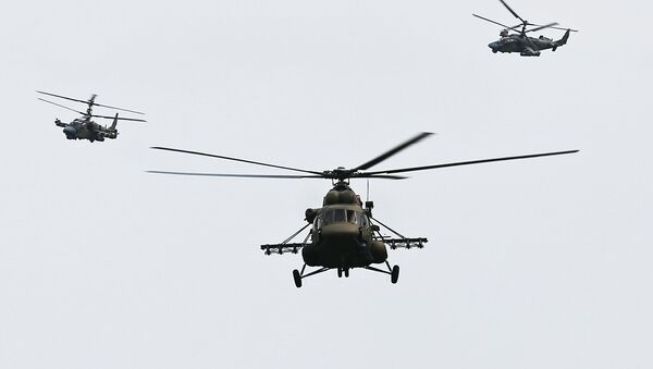 Helikopter Mi-8AMTŠ - Sputnik Srbija
