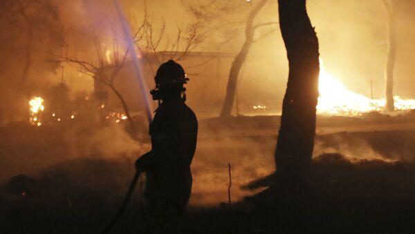 Пожар - Sputnik Србија