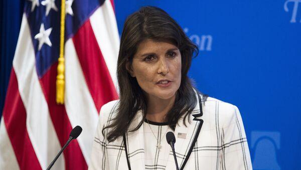 Ambasador SAD u Ujedinjenim nacijama Niki Hejli - Sputnik Srbija