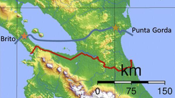 Kanal koji spaja Tihi i Atlasnki okean preko Nikaragve - Sputnik Srbija