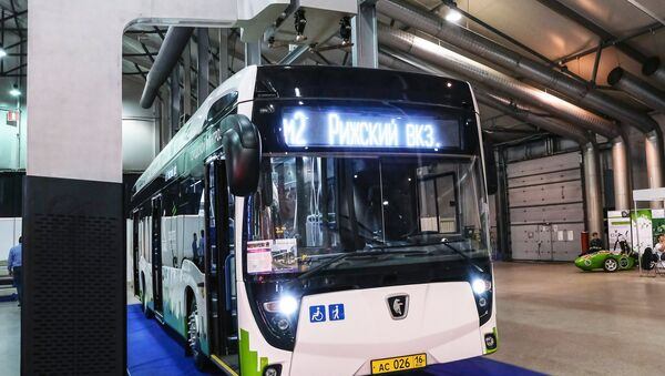 Електрични аутобус произведен у Русији - Sputnik Србија