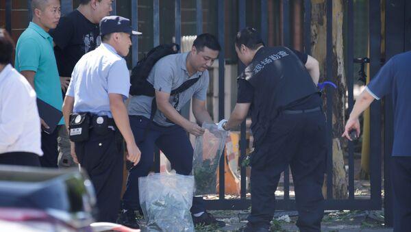 Kineska policija na mestu incidenta - Sputnik Srbija