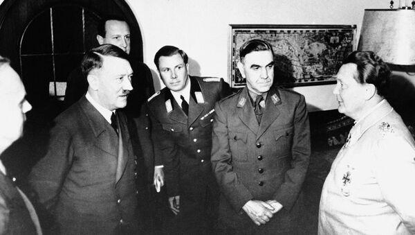 Адол Хитлер и Анте Павелић 6. јун, 1941 - Sputnik Србија