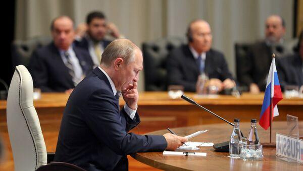 Vladimir Putin na samitu BRIKS-a - Sputnik Srbija