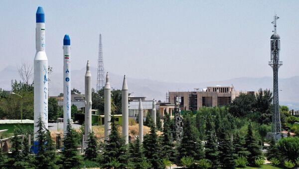 Modeli raketa i nosača raketa u muzeju Islamske revolucije i svete odbrane u Teheranu - Sputnik Srbija