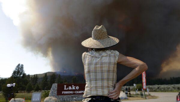 Požar u Kaliforniji - Sputnik Srbija