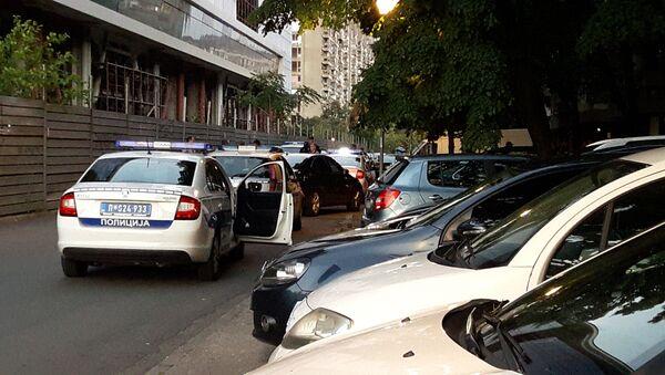 Полиција на месту убиства адвоката Драгослава Огњановић - Sputnik Србија