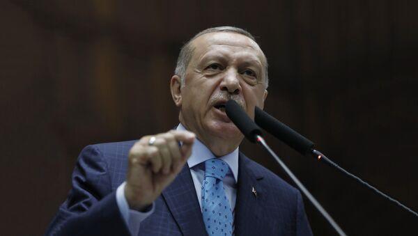Predsednik Turske Redžep Tajip Erdogan - Sputnik Srbija