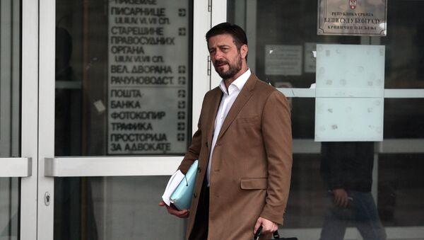 Ubijeni advokat Dragoslav Ognjanović - Sputnik Srbija