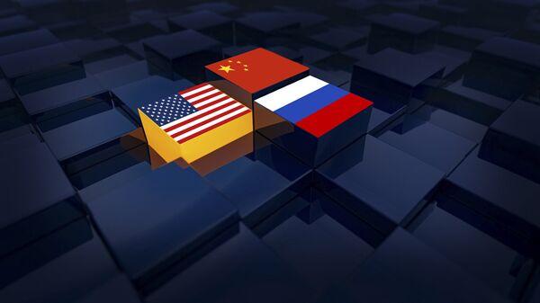 SAD, Rusija i Kina - Sputnik Srbija