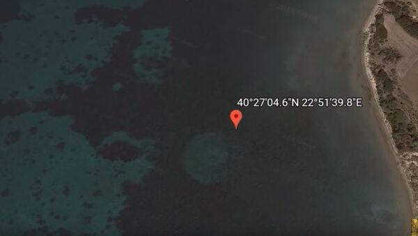 Guglov snimak u blizini grčke obale kod Soluna - Sputnik Srbija