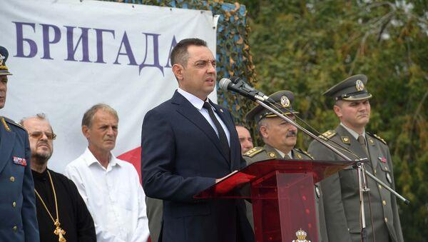 Министар одбране Александар Вулин  - Sputnik Србија